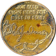 Medal - Wilhelm II (Death of the Emperor) – reverse