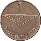 Car Wach Token - 1 Lochmann – obverse