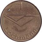 Car Wach Token - 1 Lochmann – reverse