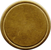 Blank Token (with circle; 27.8 mm) – reverse