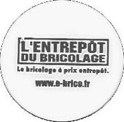 Shopping Cart Token - L Entrepot du Bricolage – obverse