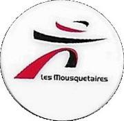 Shopping Cart Token - Les Mousquetaires – obverse