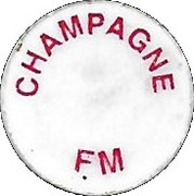 Shopping Cart Token - Champagne FM – obverse