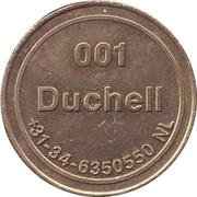 Token - Duchell 001 (No Cash Value; large stars) – obverse