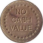 Token - Duchell 001 (No Cash Value; large stars) – reverse