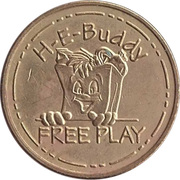 Game Token - H-E-Buddy – obverse