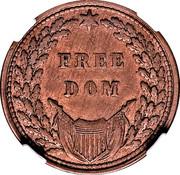 Lincoln - Freedom Civil War Patriotic – reverse
