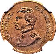 Gen. G.B. McClellan Civil War Patriotic – obverse