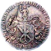 Token - Münzmeisterpfennige (Johann Benjamin Hecht) – obverse