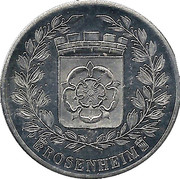 Token - Rosenheim (Wappen u. Patrona Bavariae) – obverse