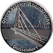 Token - Rheinbrücke Düsseldorf – obverse