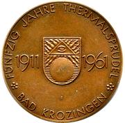 Token - Bad Krozingen – obverse