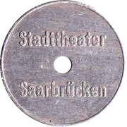 Token - Saarbrucken Stadttheater – obverse