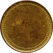 Coffee Machine Token (Blank with 76 beads;  22.70 mm) – obverse
