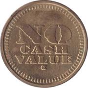 Token - No Cash Value (Star) – reverse