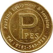 Parking Token - PES (20 mm) – obverse