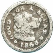Cent - Civil War Token - Confederate - Pfeiffer & Co (Norfolk, Virginia) – obverse
