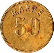 50 Marke – obverse