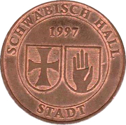 Bus Token - Schwäbisch Hall – obverse