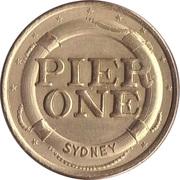 Game Token - Pier One (Sydney) – obverse