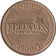 Game Token - Edelweiss Game Quest – obverse