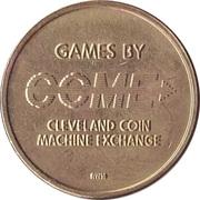 Game Token - Cleveland Coin Machine Exchange – obverse