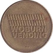 Vending Machine Token - Woburn Vending – obverse