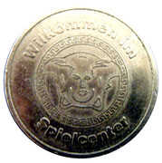 Token - Spielcenter (Lion) – obverse