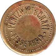 ½ Liter Bier - Platzwirtschaft (Fessenheim) – obverse