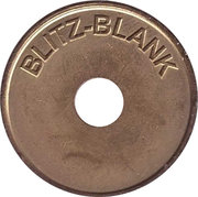 Car Wash Token - Blitz-Blank – obverse