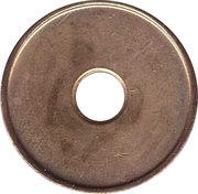 Car Wash Token - Blitz-Blank – reverse