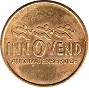 Vending Machine Token - Innovend – obverse