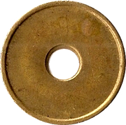Blank Token (with hole) – obverse