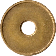 Blank Token (with hole) – reverse