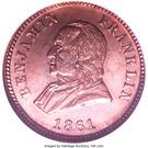 S.H. Zahm Coin Dealer (Lancaster, PA) – reverse