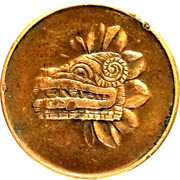 Mexico Mint Token (Dragon) – reverse