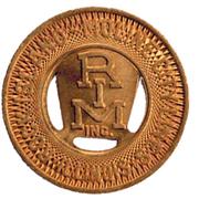 1 Fare - Rock Island Moline Lines Inc. (Rock Island, IL) – obverse