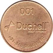 Token - Duchell 001 (Golf Division) – obverse