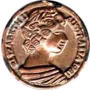 Half Penny - Elizabeth II (Play Money) – obverse
