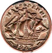 Half Penny - Elizabeth II (Play Money) – reverse