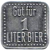 1 Liter Bier – obverse