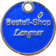 Shopping Cart Token - Langner – obverse