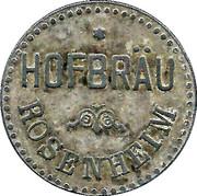 ½ Liter Bier - Hofbräu (Rosenheim) – obverse