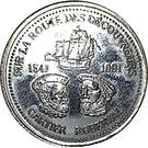 2 Souvenir Dollars - Cap Rouge Route (Discoverers) – obverse