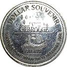 2 Souvenir Dollars - Cap Rouge Route (Discoverers) – reverse