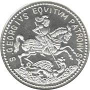 Token - St George Luck Charm – obverse