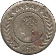 25 Cents - Caesars Casino Gauteng – obverse