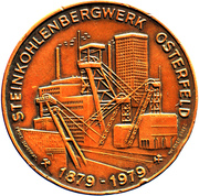 100th year of coal mine in Osterfeld, Germany – obverse
