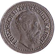 2 Mark (Friedrich III, German Reich; Play Money) – obverse