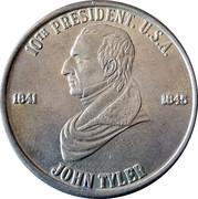 Token - John Tyler (10th President) – obverse